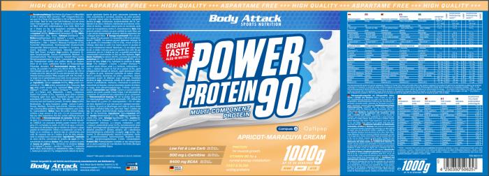 Power Proti 90 Apricot Maracuya