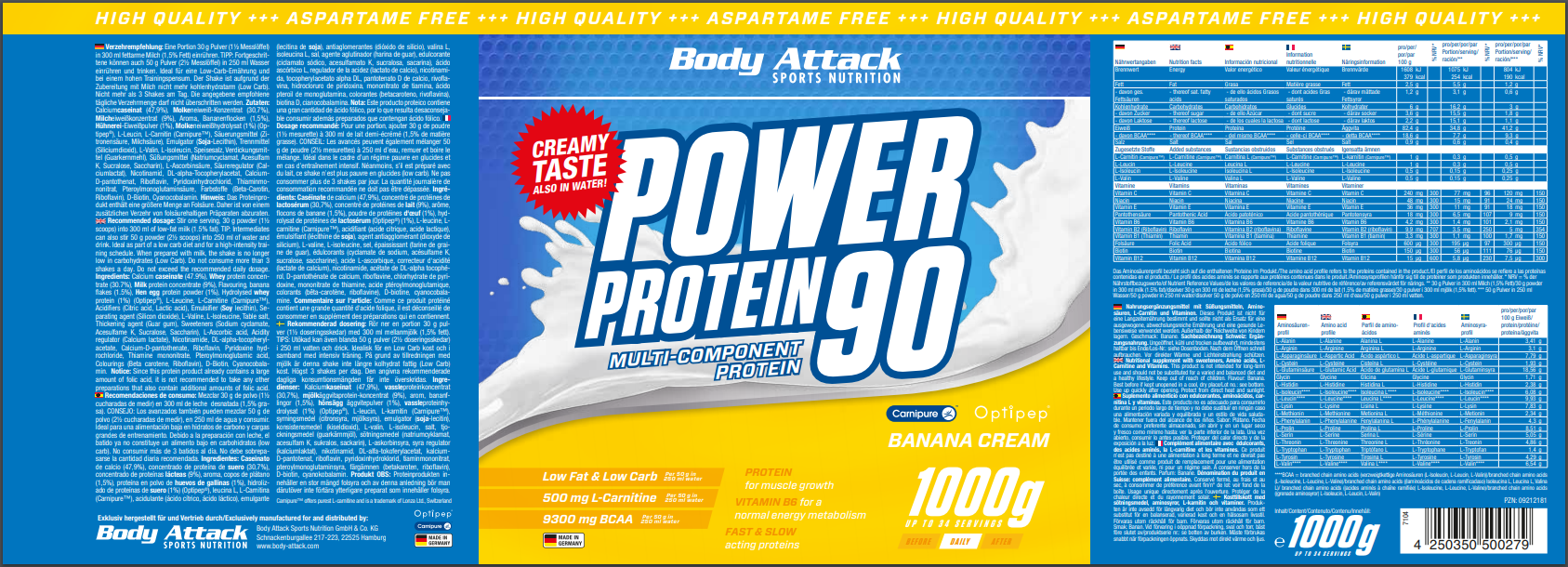 Power Proti 90 Banana