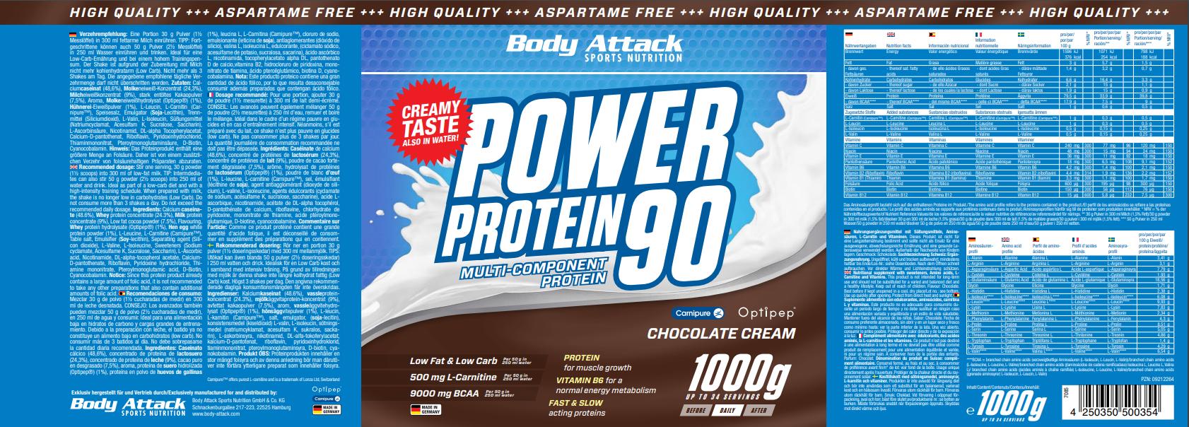 Power Proti 90 Chocolate