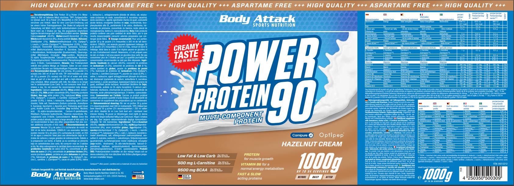 Power Proti 90 Hazelnut
