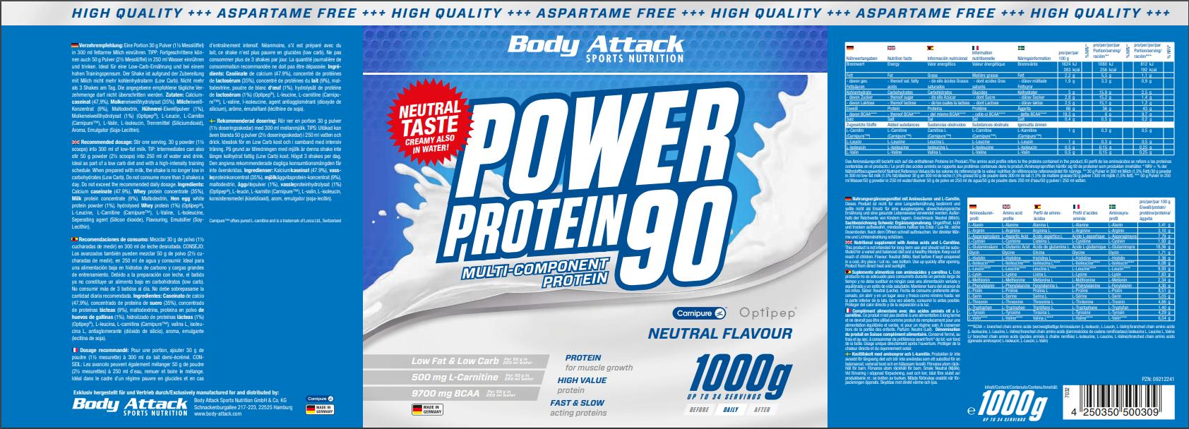 Power Proti 90 Natural