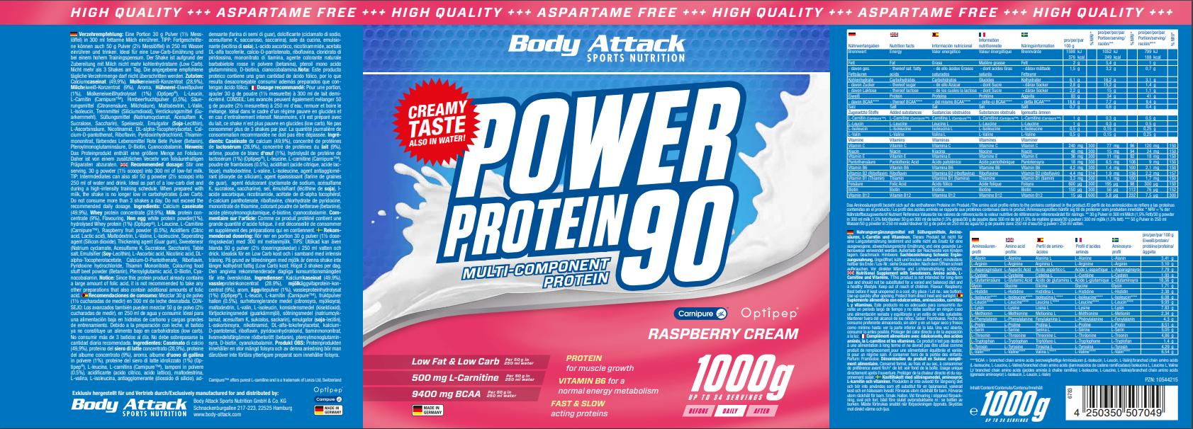 Power Proti 90 Raspberry