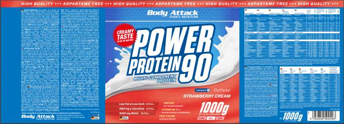 Power Proti 90 Strawberry