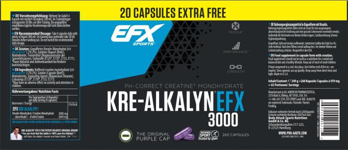 Kre Alkalyn EFX 3000