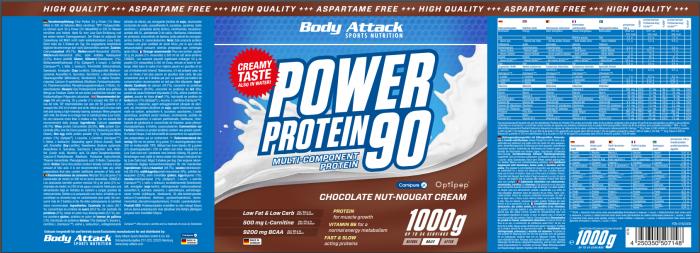 Power Proti 90 Chocolate Nut Nugat