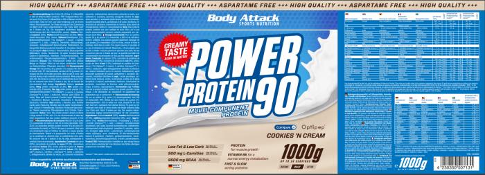 Power Proti 90 Cookies
