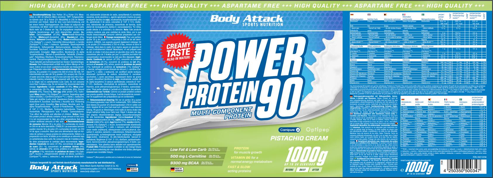Power Proti 90 Pistachio