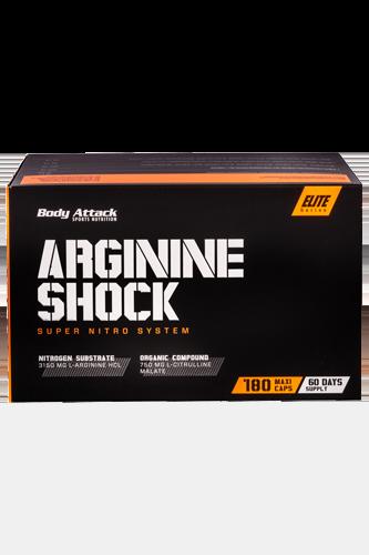 Arginine Shock-Blister 180 Kapseln