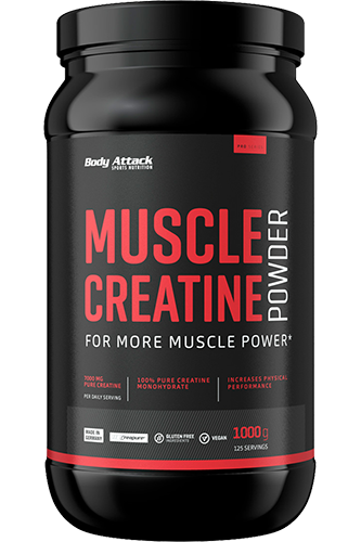 Body Attack Muscle-Creatine Pulver 1000g
