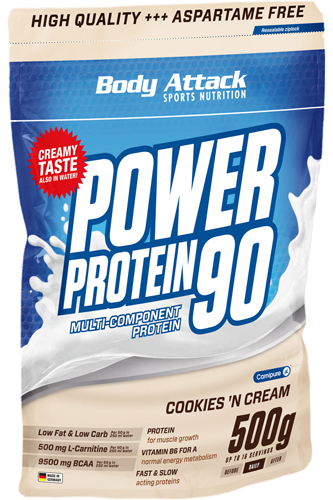 Body Attack Power Protein 90 – 500g
