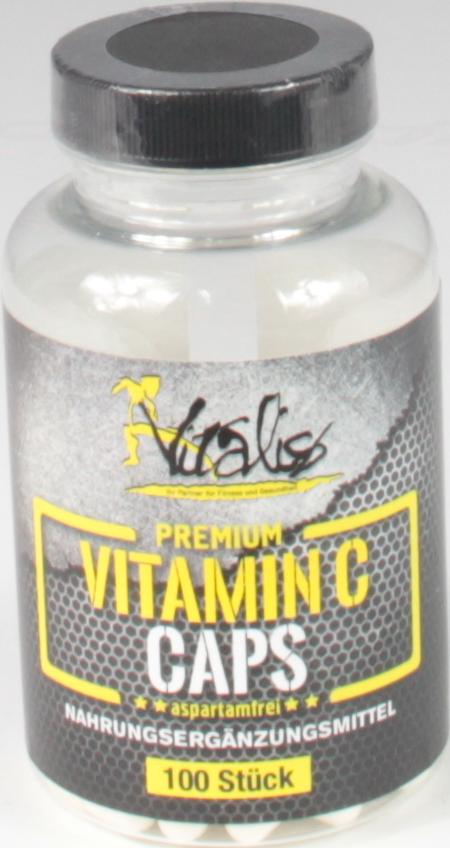 Vitalis VITAMIN C CAPS 100caps
