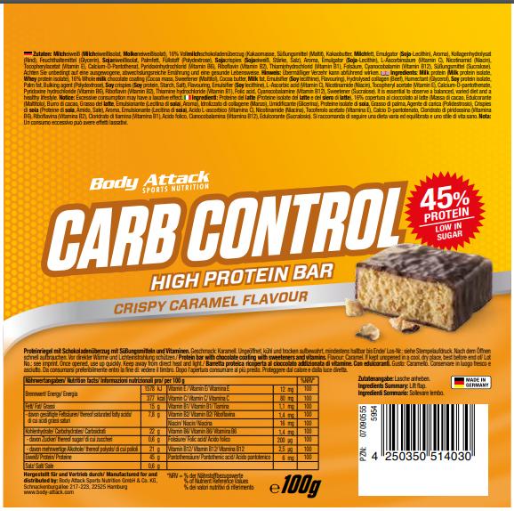 Carb Control Chrispy Caramel