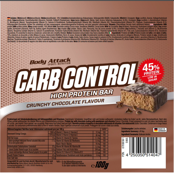 Carb Control Crunchy Chocolate
