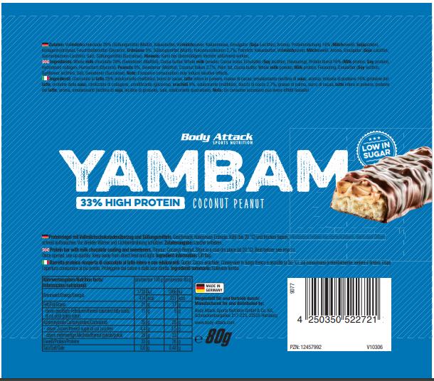 YamBam Coconut Peanut