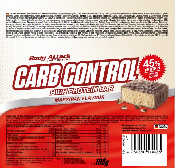 Carb Control Marzipan