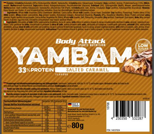 YamBam Salted Caramel