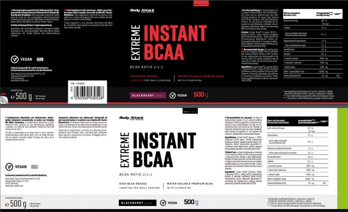 Instant BCAA Blackberry
